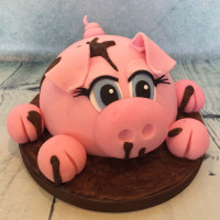 Piggy - Birthday Cake