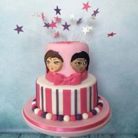 Pink Cake - Birthday Cake