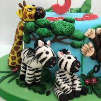 zebra and giraffe cake