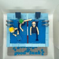 pool cake